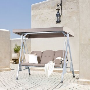 Bora Porch Swing with Stand by Home Loft Concepts