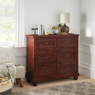 Finnegan 6 Drawer Media Chest