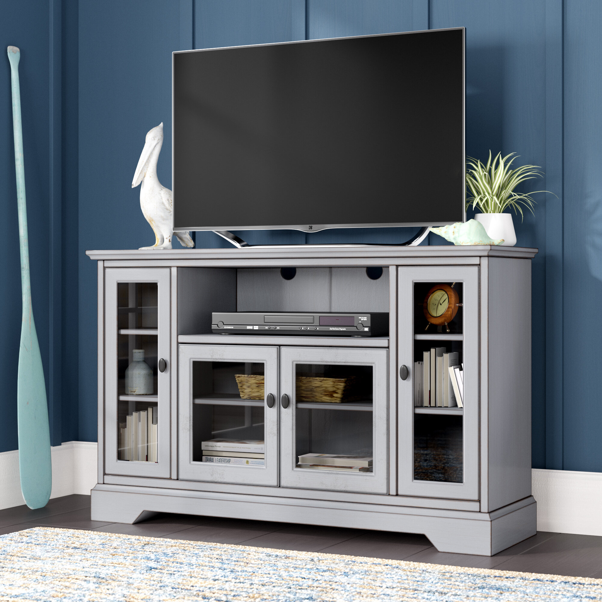 Beachcrest Home Josie Tv Stand For Tvs Up To 55 Reviews Wayfair