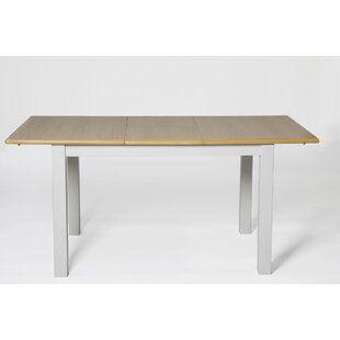 Review Swanwyck Extendable Dining Table