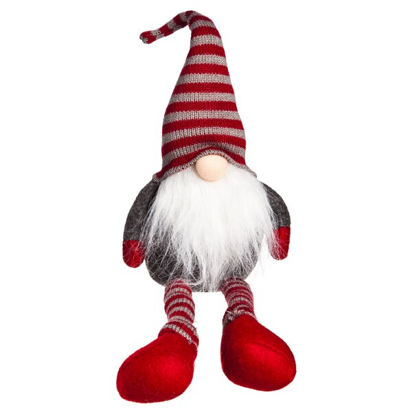 Andover Mills Plush Sitting Little Santa Reviews Wayfair