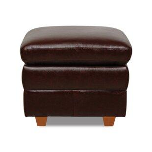 Austin Leather Storage Ottoman