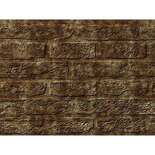 Brick Backsplash Wall Paneling 18 X 24 Field Tile In Bermuda Bronze
