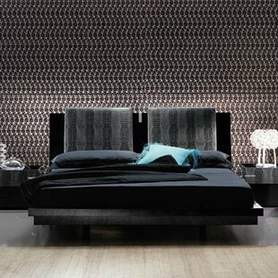 Diamond Bedroom Platform Bed by Rossetto USA