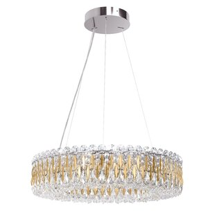 Schonbek Sarella 12-Light Crystal Chandelier