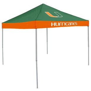Logo Brands NCAA 9 Ft. W x 9 Ft. D Pop-Up Canopy