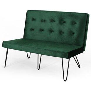 Lizabeth Minimalist Upholstered Bench by Brayden Studio