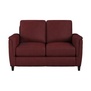 Westland and Birch Altimo Leather Loveseat
