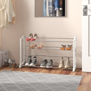 Bargain 20 Pair Stackable Shoe Rack By Rebrilliant