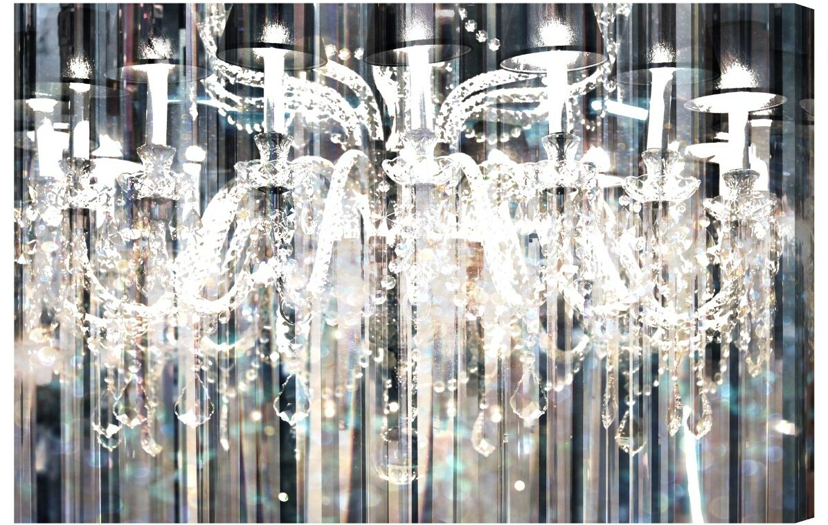 canvas picture more badcock of art crystal chandelier