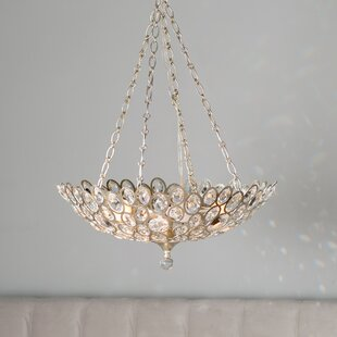 House of Hampton Rhode 5-Light Bowl Pendant