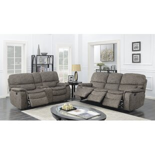 Red Barrel Studio Aidan Reclining 2 Piece Living Room Set