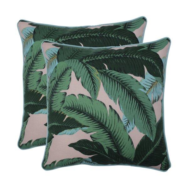 Green Palm Pillow Wayfair