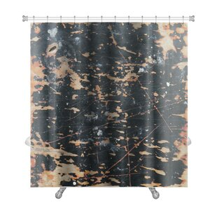 Abstract of Wall Premium Single Shower Curtain