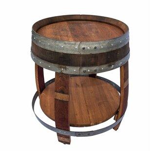 Bamberg Wine Barrel Tray Table