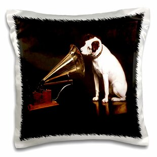 RCA Dog and Victrola Pillow Cover