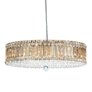 Plaza 15-Light Crystal Chandelier by Scho..
