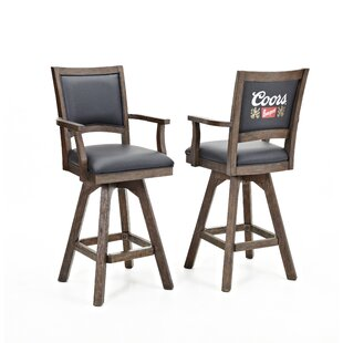 Coors Banquet 30 Swivel Bar Stool (Set Of 2) by ECI Furniture Find