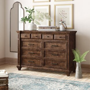 Saunders 8 Drawer Double Dresser