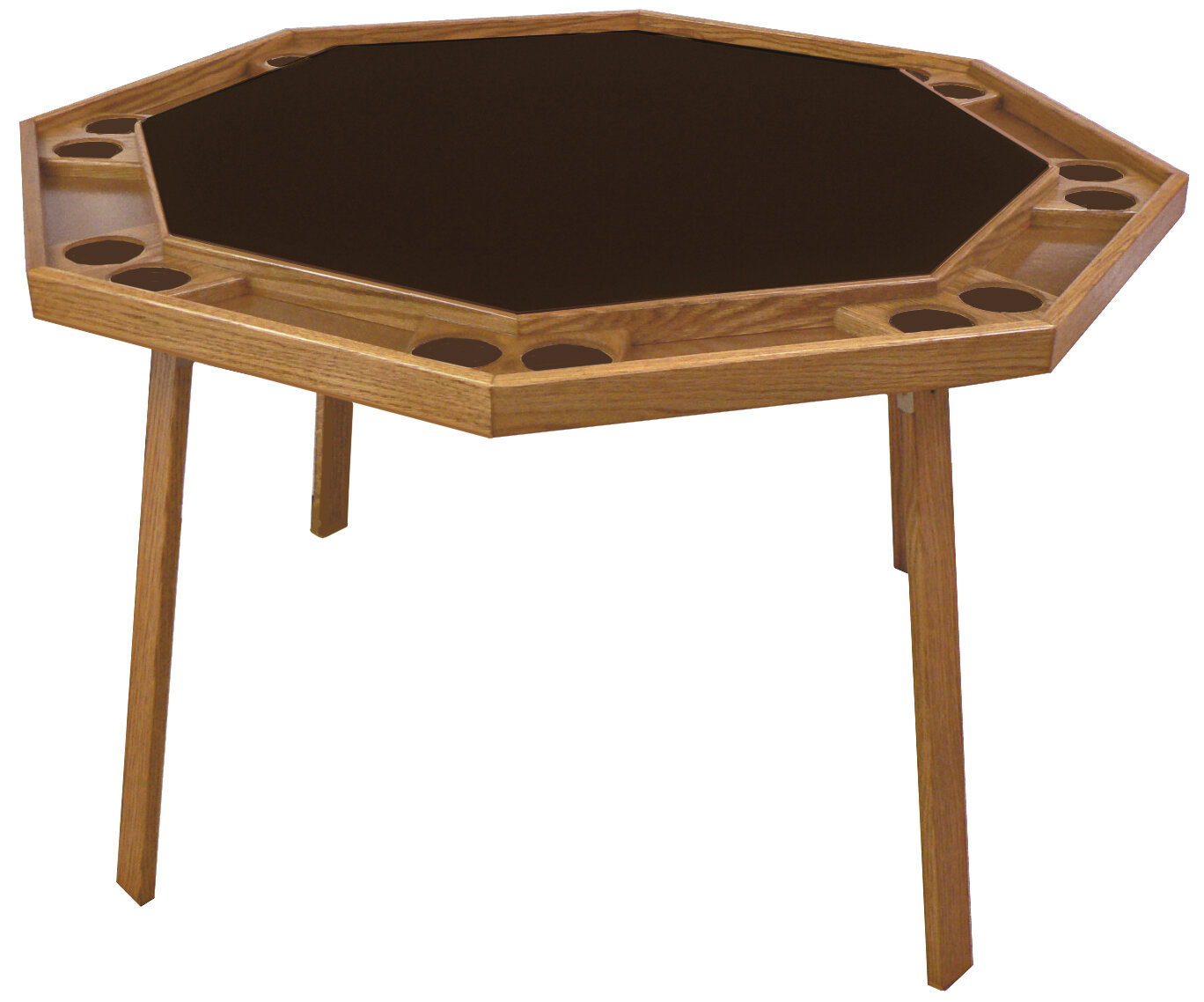 Kestell Furniture 52'' Folding Poker Table & Reviews | Wayfair