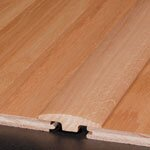 """0.25"""" x 2"""" x 78"""" Red Oak T-Molding in Cambridge Ginger"""