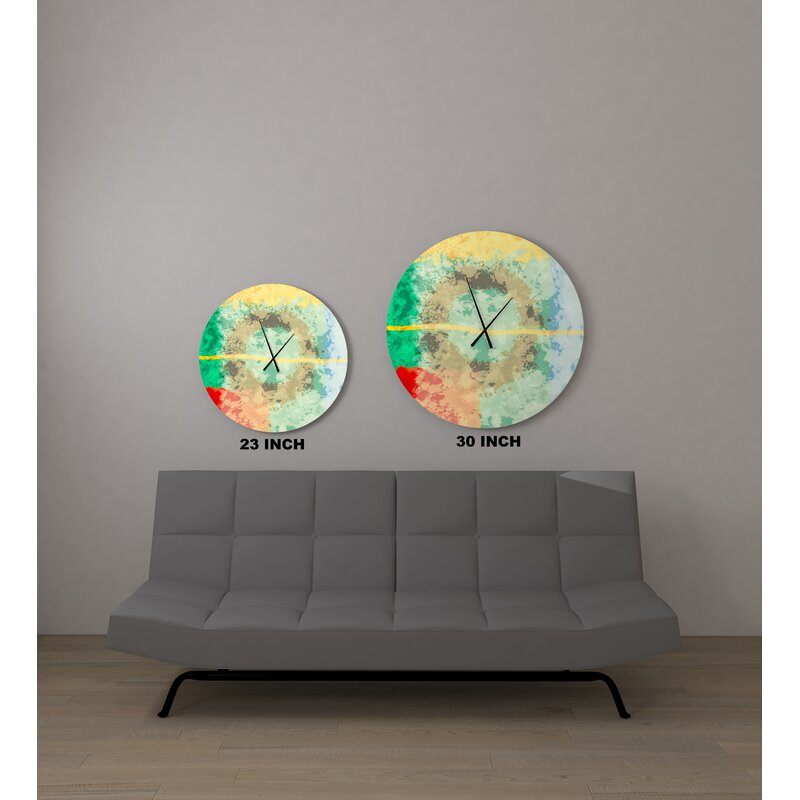 East Urban Home Ernberg Wall Clock