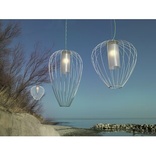 Cell 1 Light Outdoor Pendant By Karman