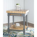 Havard Kitchen Island Butcher Block by August Grove®