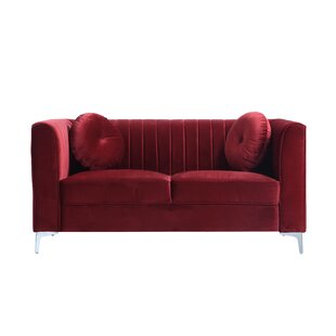 Delicieux Red Velvet Sofas Youu0027ll Love | Wayfair