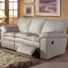 El Dorado Leather Reclining Sofa by Omnia Leather