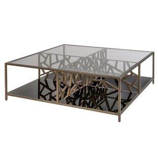 Allan Copley Designs Cracked Ice Coffee Table