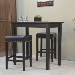 Stafford 3 Piece Pub Table Set ByDarby Home Co ...