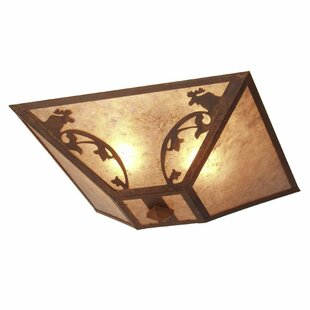 Steel Partners Bavarian Moose 2-Light Flush Mount