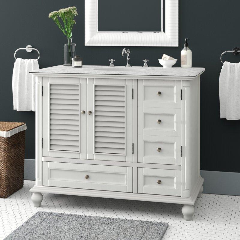 Rosecliff Heights Wilkins 42 Single Bathroom Vanity Set Reviews Wayfair