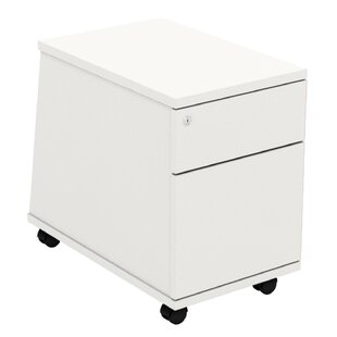 Derryberry 2 Drawer Filing Cabinet By Mercury Row