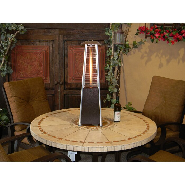 9 500 Btu Propane Tabletop Patio Heater