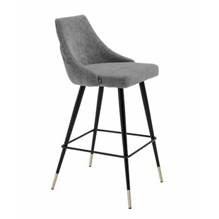 Cedro Upholstered 36 Bar Stool by Eichholtz