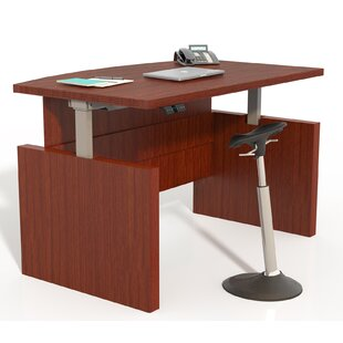 Josefina Height Adjustable Executive Desk by Symple Stuff Modern
