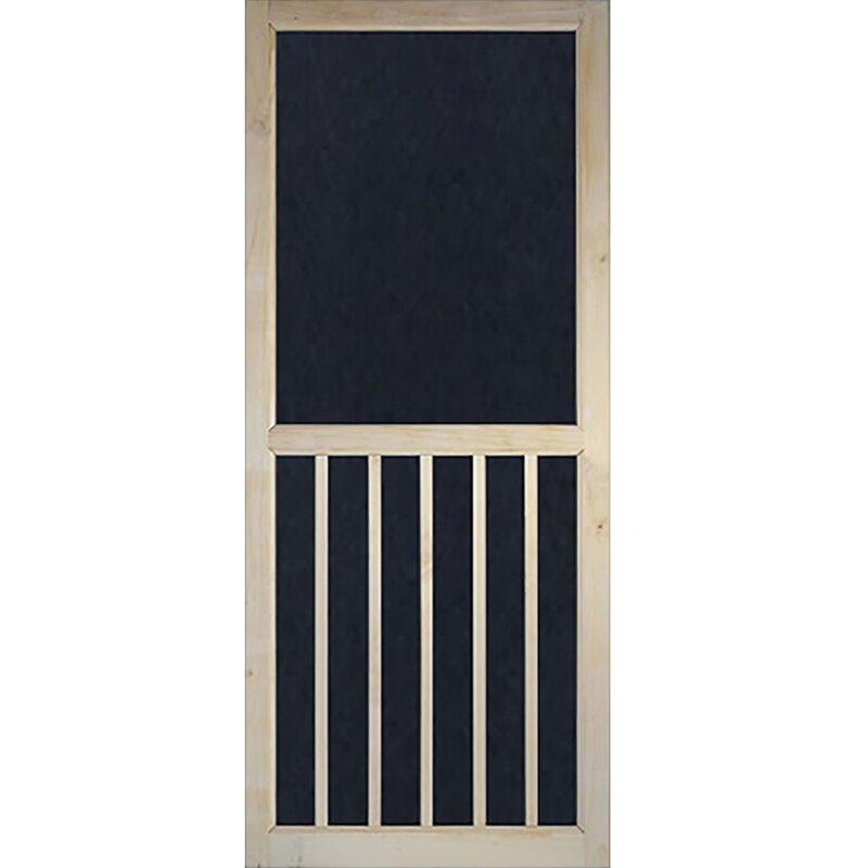 Kiby 5 Panel Wood Exterior Door Wayfair