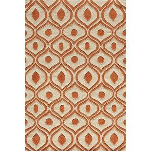 35de9c427 Ella Hand-Tufted Orange Area Rug. by Langley Street