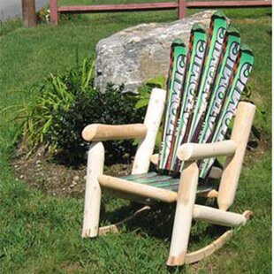 Ski Chair Snow Wood Rocking Adirondack Chair
