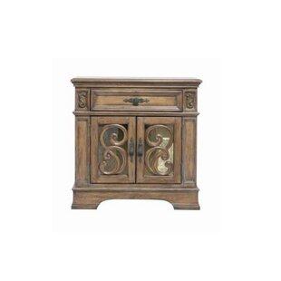 Antonie Door 1 Drawer Nightstand by August Grove