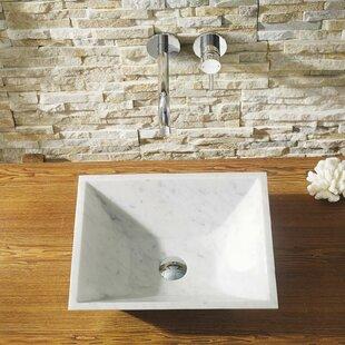 Affordable Helios Stone Rectangular Vessel Bathroom Sink ByVirtu USA