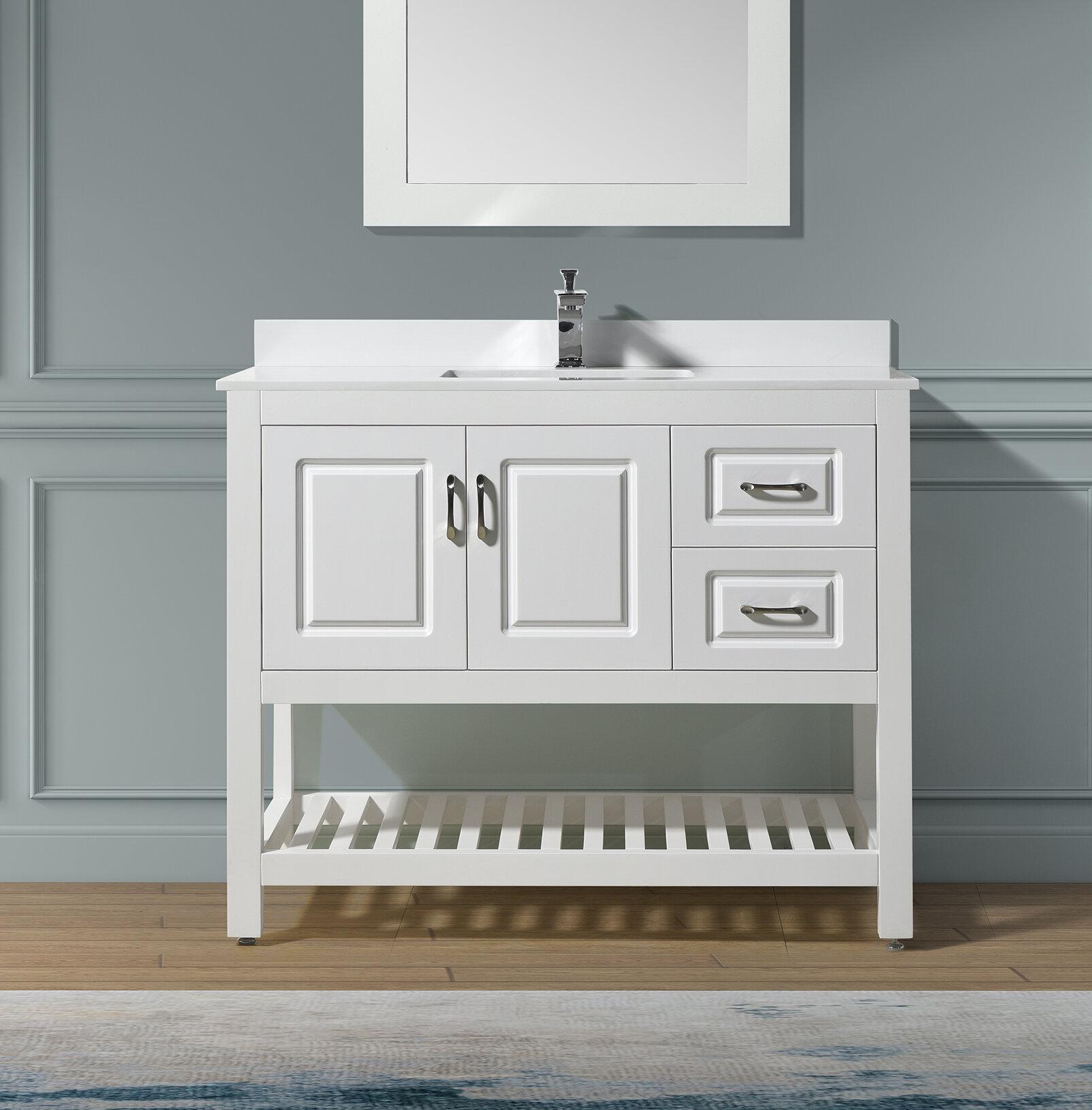 Needville 41 Single Bathroom Vanity Set Reviews Joss Main