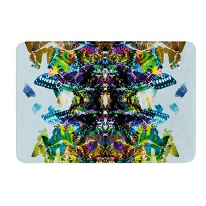 Butterfly by Danii Pollehn Bath Mat