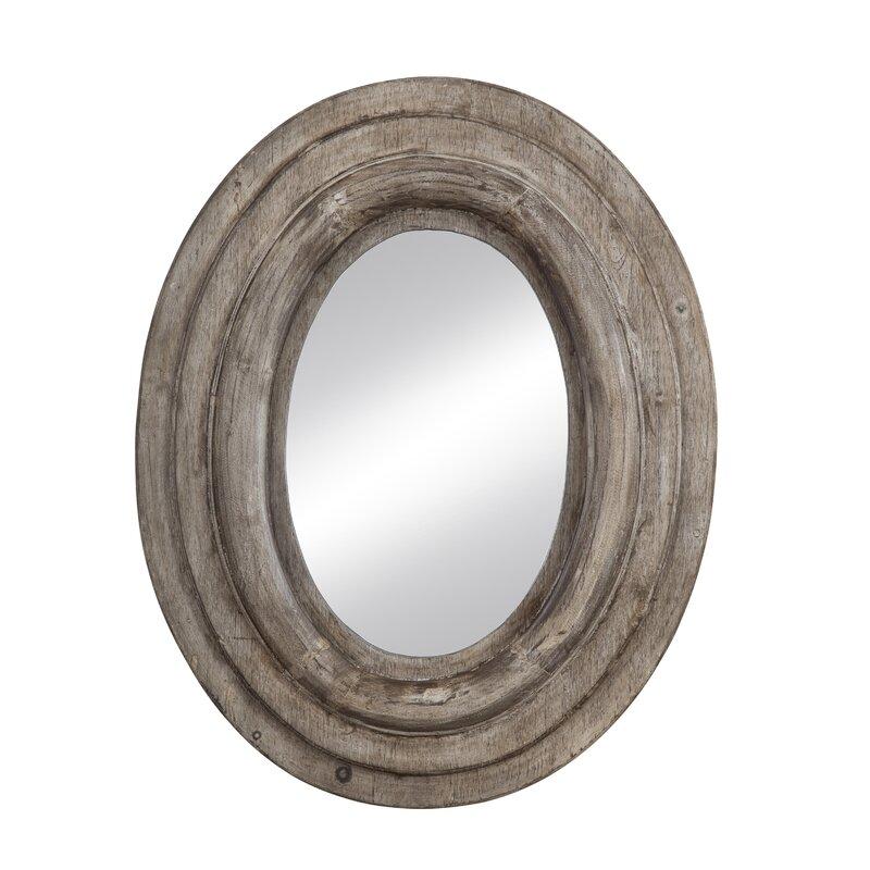 Rosecliff Heights Monterey Oval Framed Wall Mirror & Reviews   Wayfair