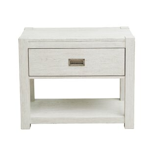 Aaron 1 Drawer Nightstand by Millwood Pines