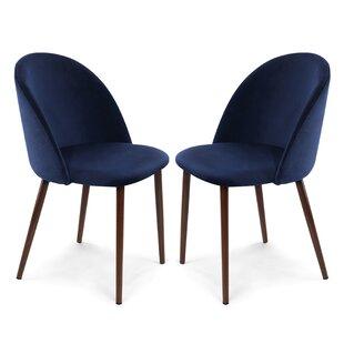 Mercer41 Aaden Upholstered Dining Chair (Set of 2)