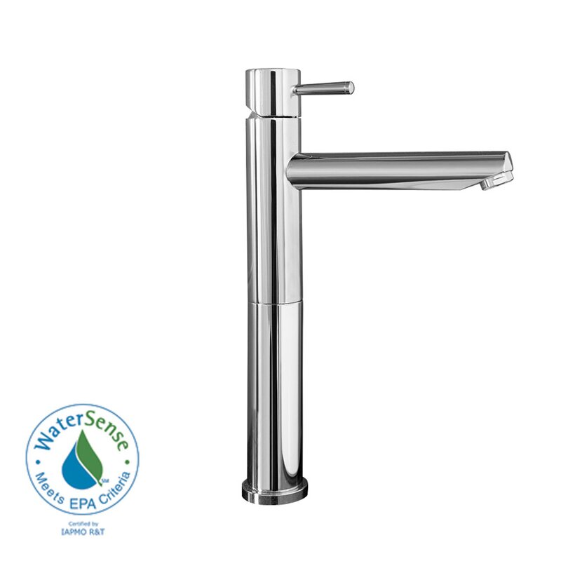 American Standard Serin Single Hole Bathroom Vessel Faucet with ...