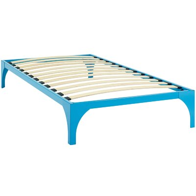 Excellent Modway Ollie Bed Frame Size Twin Color Light Blue Ibusinesslaw Wood Chair Design Ideas Ibusinesslaworg